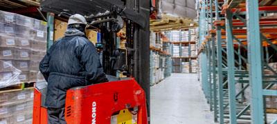Freezer Warehouse Storage